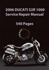 Thumbnail 2006 Ducati Monster S2R 1000 Repair Manual