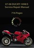 Thumbnail 2007-08 Ducati 1098/1098S Service Repair Manual