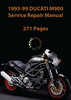 Thumbnail 1993-99 Ducati Monster 900 Service Repair Manual