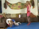 Queen of Tights 8 p2 Kitty Claus vs Carol Anne