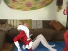 Queen of Tights 8 p4 Kitty Claus vs Carol Anne