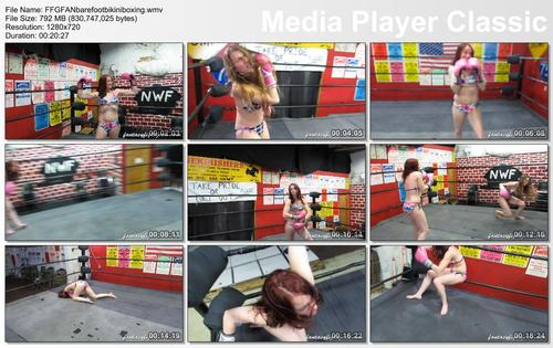 Pay for FFGFAN232 Barefoot Bikini Boxing