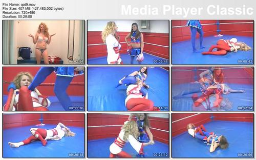 Pay for QOT 9 Pom Pom Pam vs The Queen of Tights Full Video