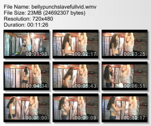Pay for FFGMIX038 Belly Punch Slave, Full Video