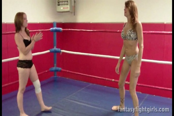 Pay for FFGCOMP019 Betty vs Veronika in Lingerie