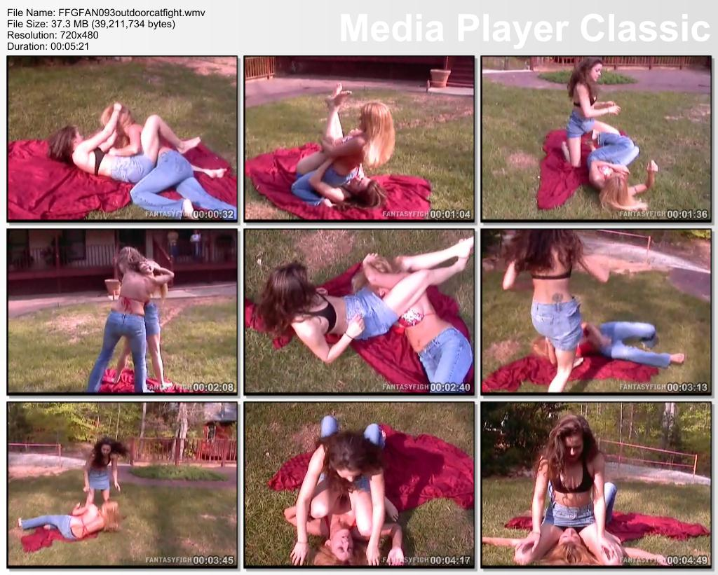Pay for FFGFAN093 outdoor catfight