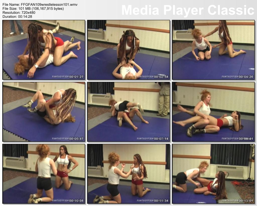 Pay for FFGFAN109 wrestle lesson 101