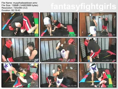 Pay for FFGMIX014 Muay Thai Kick Boxing Beat down
