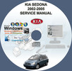Thumbnail KIA SEDONA 2002 - 2005 SERVICE REPAIR MANUAL