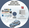 Thumbnail SATURN VUE 2002 2003 2004 2005 2006 SERVICE REPAIR MANUAL