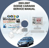 Thumbnail DODGE CARAVAN 2003-2007 SERVICE REPAIR MANUAL  03 04 05