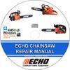 Thumbnail ECHO CHAINSAW Repair Manual