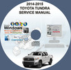 Thumbnail TOYOTA TUNDRA 2014-2015 SERVICE REPAIR MANUAL ON CD
