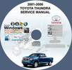 Thumbnail TOYOTA TUNDRA 2001-2006 SERVICE REPAIR MANUAL ON CD