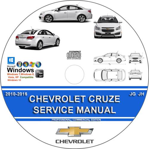 Chevrolet Cruze Jg Jh 2010 2016 Service Repair Manual border=