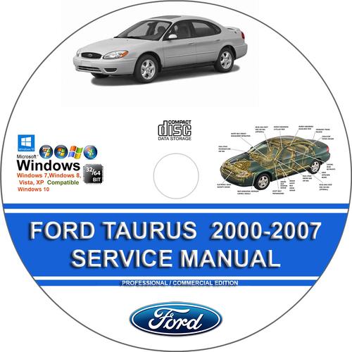 ford taurus   service repair manual