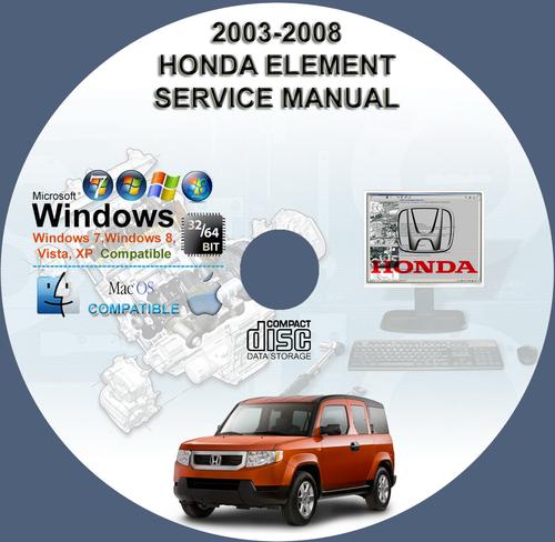 honda element 2003 2008 service repair manual download manuals rh tradebit com 2008 honda cbr600rr service manual 2008 honda cbr600rr service manual