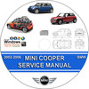 Thumbnail MINI COOPER, S & CONVERTIBLE SERVICE REPAIR MANUAL PDF ON CD