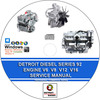 Thumbnail DETROIT DIESEL SERIES 92 ENGINES V6 V8 12 16 CYLINDER MANUAL