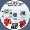 Thumbnail CUMINS ENGINES SIGNATURE ISX, QSX15 SERVICE REPAIR MANUAL