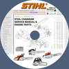 Thumbnail STIHL CHAINSAW SERVICE REPAIR MANUALS & ENGINE PARTS CATALOG
