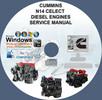 Thumbnail CUMINS DIESEL ENGINES CELECT N14 SERVICE REPAIR MANUAL