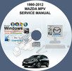 Thumbnail MAZDA MPV 1990-2012 1ST & 2ND GEN SERVICE REPAIR MANUAL