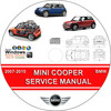 Thumbnail MINI COOPER, S & CONVERTIBLE SERVICE REPAIR MANUAL 2007-2010