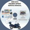 Thumbnail 2005-2010 TRIUMPH SPRINT ST 1050 SERVICE REPAIR MANUAL