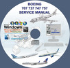 Thumbnail Boeing 707 737 747 757 Service Repair Technical Manual