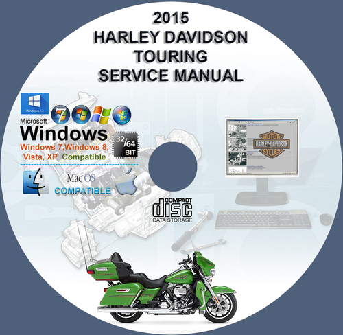 Pay for Harley Davidson 2015 Touring All Models Service Repair Manua