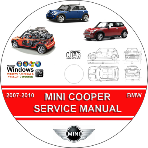 mini cooper s convertible service repair manual 2007. Black Bedroom Furniture Sets. Home Design Ideas
