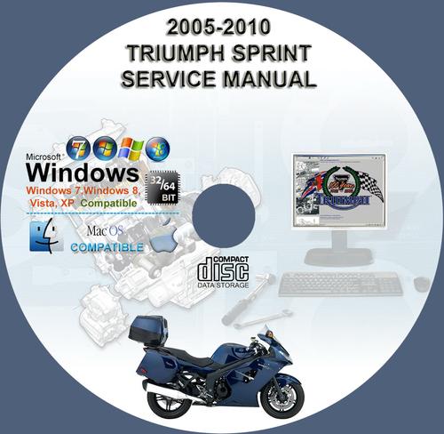 Pay for 2005-2010 TRIUMPH SPRINT ST 1050 SERVICE REPAIR MANUAL