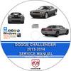 Thumbnail Dodge Challenger 2013 - 2014 Service Repair Manual