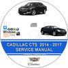 Thumbnail Cadillac CTS 2014 - 2017 Service Repair Manual + Wiring Diag
