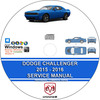 Thumbnail Dodge Challenger 2015 - 2016 Service Repair Manual