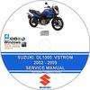 Thumbnail Suzuki DL1000 VStrom 2002 - 2009 Service Repair Manual + Wir