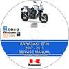 Thumbnail Kawasaki Z750 2007 - 2010 Service Repair Manual