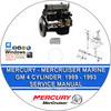 Thumbnail Mercury Mercruiser Marine Engines GM 4 Cylinder 1989 - 1993