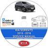 Thumbnail Kia Sorento 2015 - 2018 Service Repair Manual