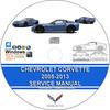 Thumbnail Chevrolet Corvette 2005 - 2013 Service Repair Manual