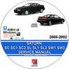 Thumbnail SaturnSC SC1 SC2 SL SL1 SL2 SW1 SW2 2000-2002 Manual