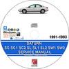 Thumbnail Saturn SC SC1 SC2 SL SL1 SL2 SW1 1991-1993