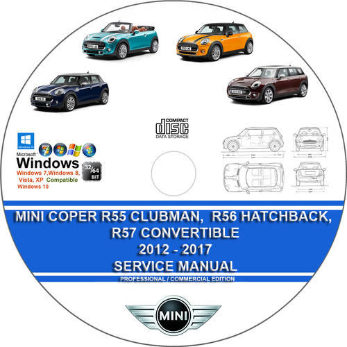 Pay for Mini Cooper R55 Clubman Hatchback, R57 Convertible 2012-2017