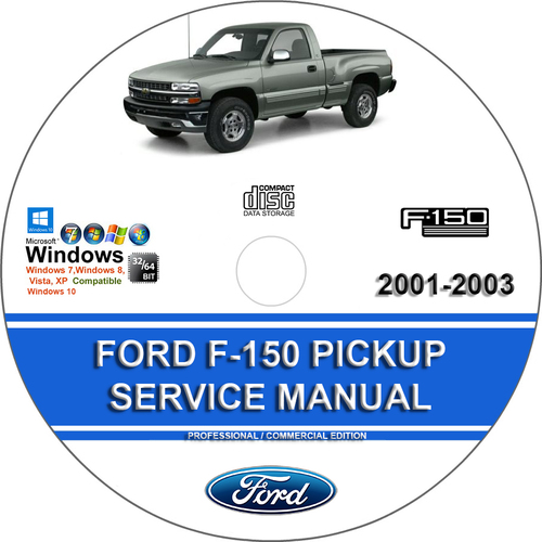 Pay for Ford Pickup F150 2001 - 2003 Service Repair Manual F-1