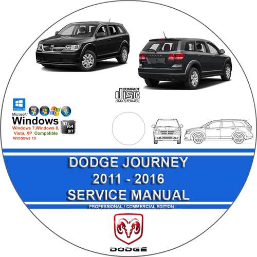 Pay for Dodge Journey 2011 - 2016 Service Repair Manual + Wiring