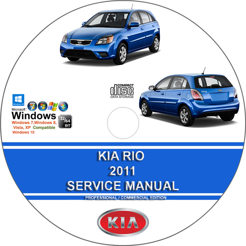 Kia Rio 2011 Service Repair Manual