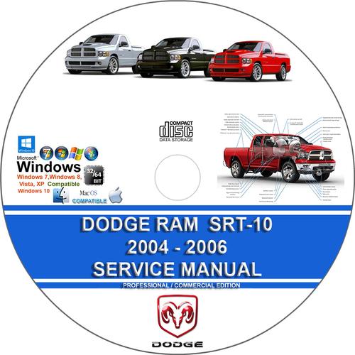 Pay for Dodge Ram SRT-10 2004 2005 2006 Service Repair Manual SRT10