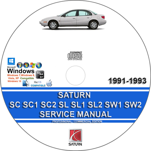 Pay for Saturn SC SC1 SC2 SL SL1 SL2 SW1 1991-1993