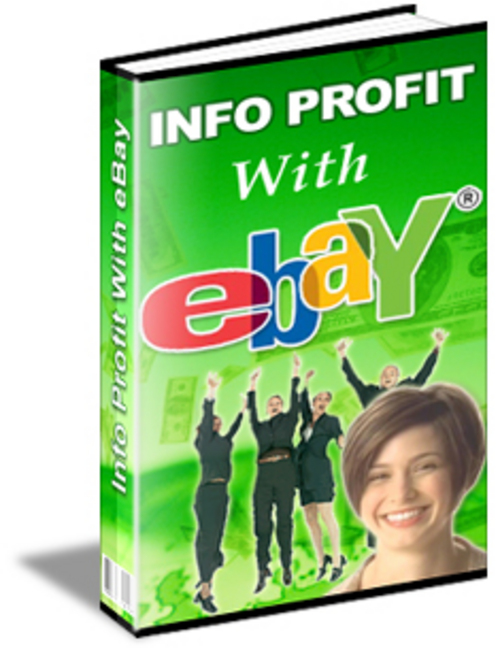 "Pay for Info Profit With eBay learn ""New"""